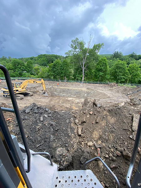 Excavators In The Berkshires, Excavation Contractors In The Berkshires, Trenching